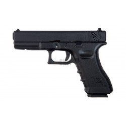 KJ Works Tipo Glock -18 Negra CO2