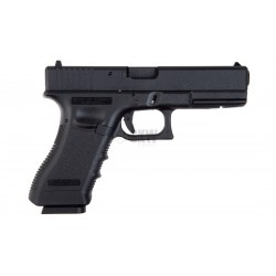 KJ Works Type Glock -18 Black Gas