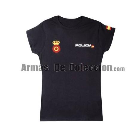 Camiseta Policia Mujer