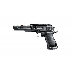 370 FPS - 2 JULIOS !! Elite Force Racegun Pistola 6MM CO2 -FULL METAL - BLOW. BACK