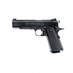 Elite Force 1911 Tac Pistol 6mm Full Metal Blow Back CO2 M6 1.4J