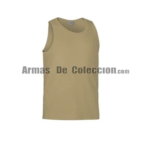 CAMISETA TIRANTES LISA TAN