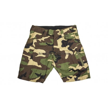 Pantalon Short Tactico Woodland