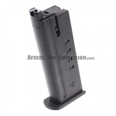 Cargador Pistola Desert Eagle 50 AE Gas Negro