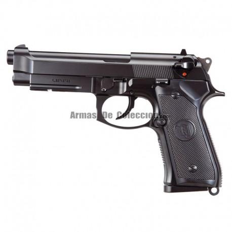 Pistola KJW M9A1 Gas Full Metal Negra