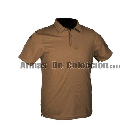Polo Tactico Coyote Wolf Brown