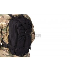 Delta Tactics Combat Compact Black Backpack
