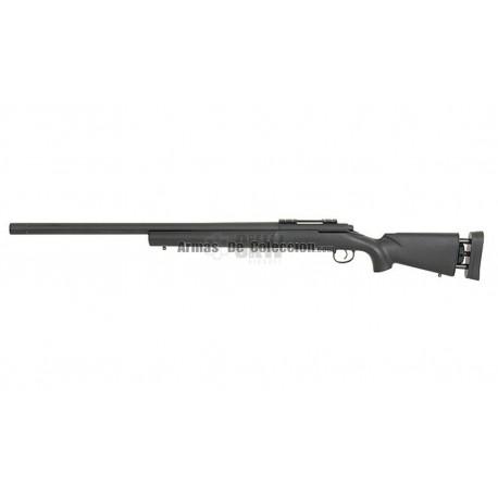 Rifle Francotirador M24 A&K con Optica 4x32 Swiss Arms