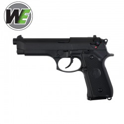 WE Tipo M-92 Pistola airsoft Full Metal Blowback Gas