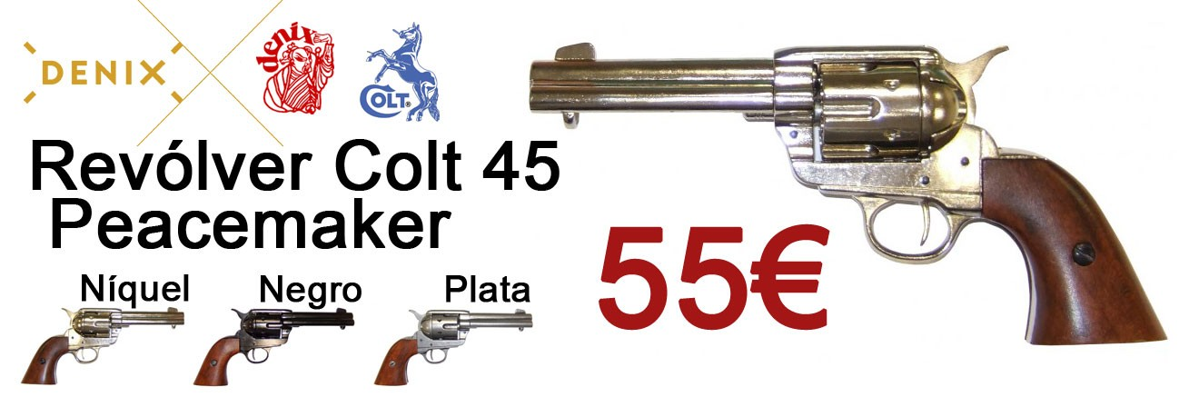 Comprar Revolver Colt 45 Peacemaker