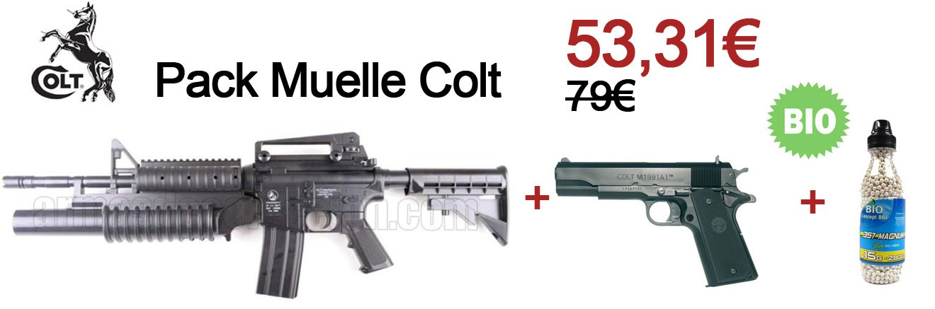 Pack Muelle Colt