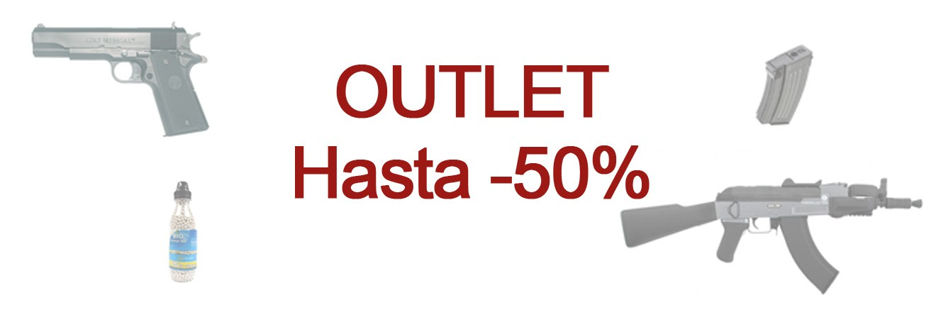 Outlet hasta -50%