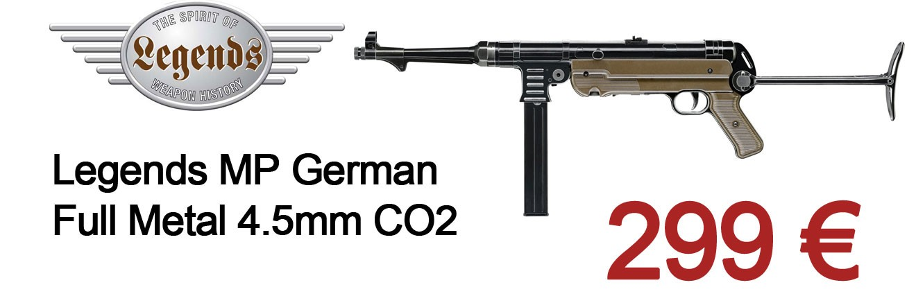 Legends MP German Full Metal 4.5mm CO2